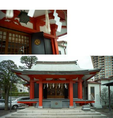 氷川神社(毘沙門天)